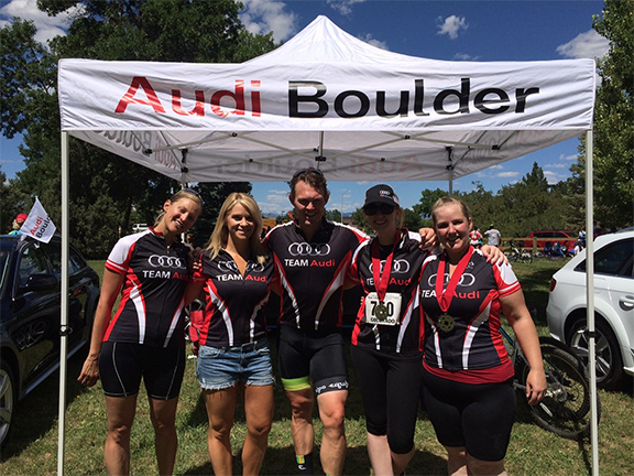 audi boulder rocky mountain cycling cancer